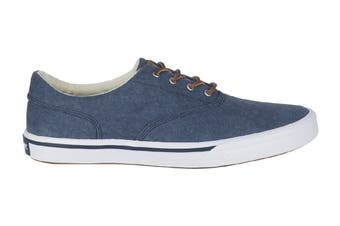 Sperry Men's Striper II Canvas Shoe (Navy)