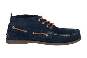 Sperry Men's A/O Chukka Suede Shoe (Navy)