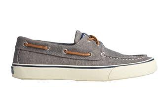 Sperry Men's Bahama II Distressed Shoe (Dark Grey, Size 12 US)