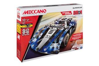 Meccano Multi 25 Model Supercar