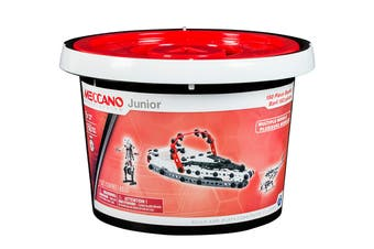 Meccano Junior 150 Pieces Bucket