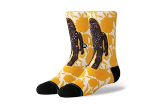 Stance Kids Star Wars Floral Chewie Sock (Yellow)
