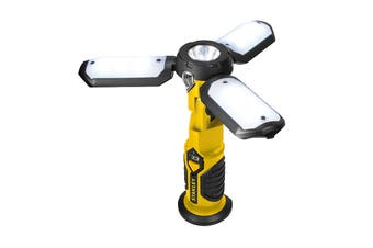 Stanley Satellite Worklight - 300 Lumens- AC - DC USB Chargers - Portable Power