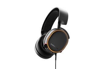 SteelSeries Arctis 5 Gaming Headset (Black, 2019 Edition)