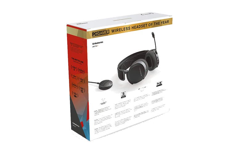 SteelSeries Arctis 7 Wireless Gaming Headset (2019 Edition, Black)