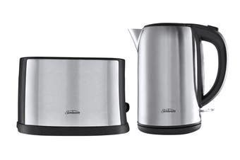 Sunbeam Breakfast Essentials Toaster & Kettle Pack - Stainless Steel (PU5201)