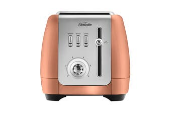 Sunbeam London Collection 2 Slice Toaster - Rose Bronze (TA2220BZ)