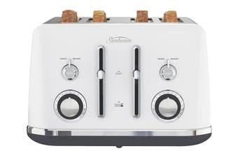 Sunbeam Alinea 4 Slice Toaster - Ocean Mist White (TA2740W)