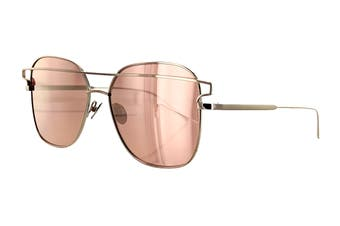 Sunday Somewhere JESSE Sunglasses (Rose Gold, Size 57-16-145) - Pink