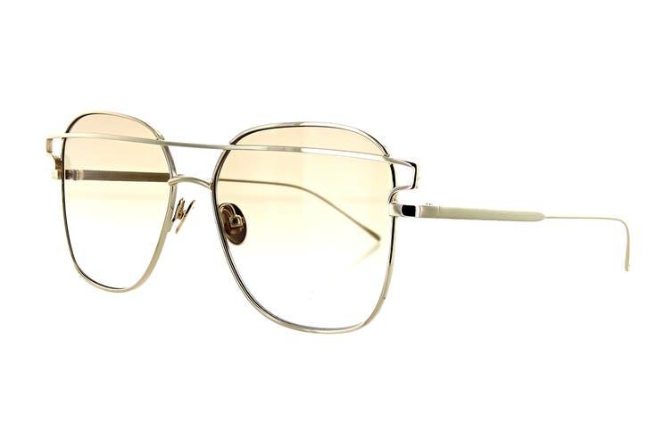 Sunday Somewhere JESSE Sunglasses (White Gold, Size 57-16-145) - Brown