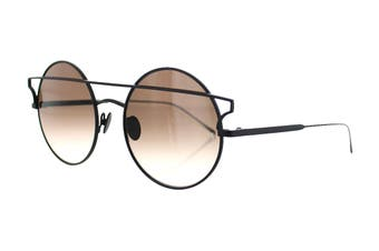 Sunday Somewhere MATILDA Sunglasses (Black, Size 55-20-145) - Brown Gradient