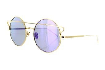 Sunday Somewhere MATILDA Sunglasses (Yellow Gold, Size 55-20-145) - Purple