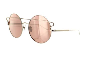 Sunday Somewhere MATILDA Sunglasses (Rose Gold, Size 55-20-145) - Pink