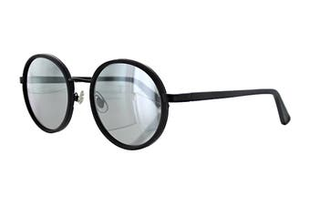 Sunday Somewhere NED Sunglasses (Matte Black, Size 50-20 145) - Black Mirror