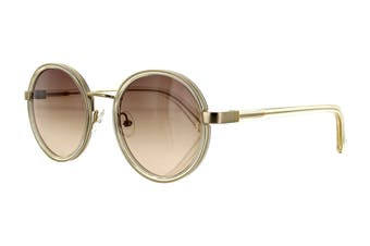 Sunday Somewhere NED Sunglasses (Crystal, Size 50-20-145) - Brown Gradient