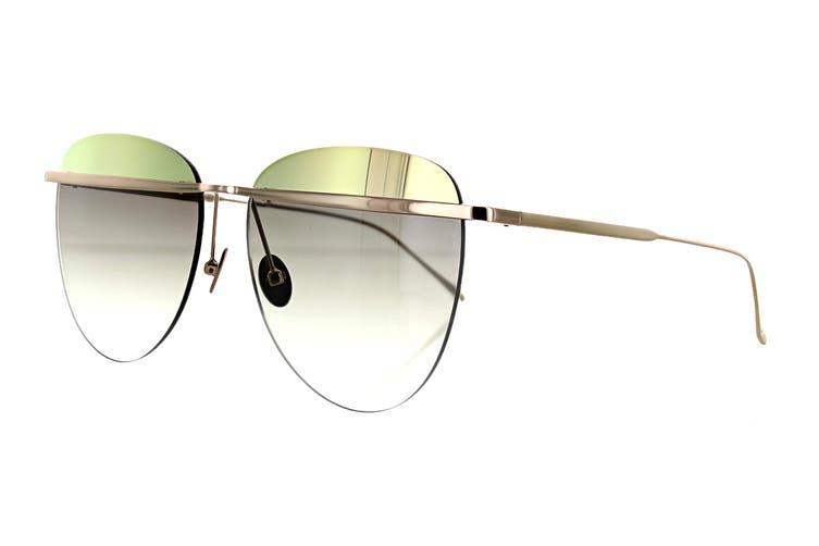 Sunday Somewhere TALLULAH Sunglasses (Rose Gold, Size 58-16-145) - Brown