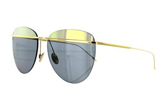 Sunday Somewhere TALLULAH Sunglasses (Gold, Size 58-16-145) - Gold/Black