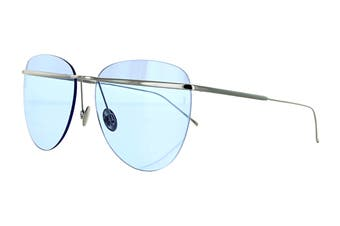 Sunday Somewhere TALLULAH Sunglasses (Silver, Size 58-16-145) - Sky Blue