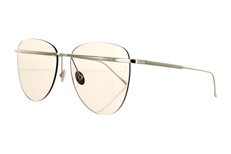 Sunday Somewhere TALLULAH Sunglasses (White Gold, Size 58-16-145) - Tan