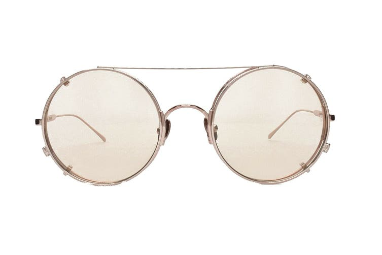 Sunday Somewhere VALENTINE Sunglasses (Pink Gold, Size 53-23-145) - Brown