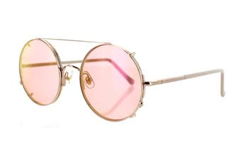 Sunday Somewhere VALENTINE Sunglasses (Rose Gold, Size 53-23-145) - Pink
