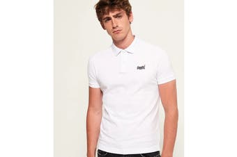Superdry Men's Classic Pique Polo (New Optic)