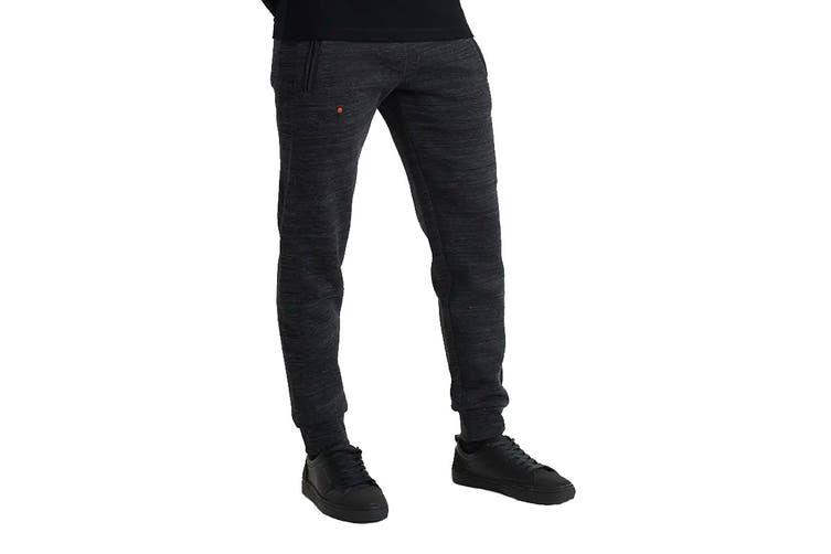 Superdry Men's OL Cali Jogger (Vast Black Space Dye, Size S)