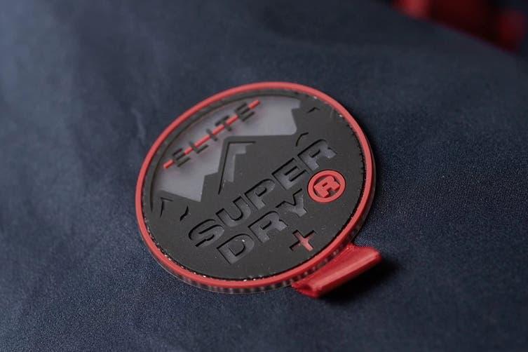 Superdry Men's Padded Elite Jacket (Navy, Size L)