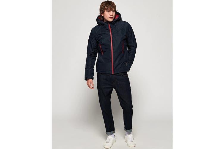 Superdry Men's Padded Elite Jacket (Navy, Size M)