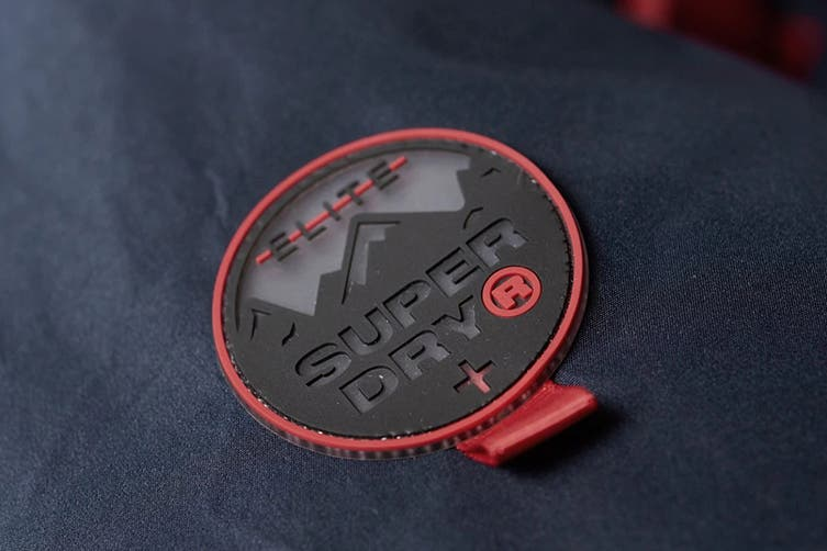 Superdry Men's Padded Elite Jacket (Navy, Size XL)
