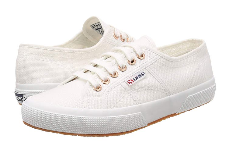 Superga Unisex 2750-Cotu Classic Shoe (White, Size 37 EU)