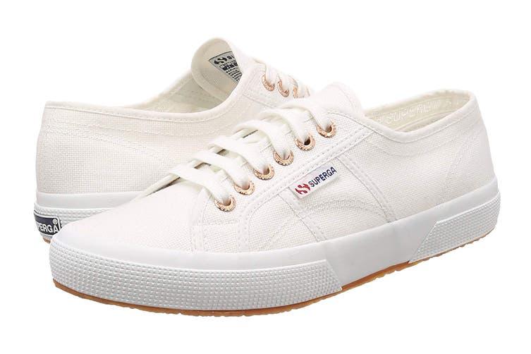 Superga Unisex 2750-Cotu Classic Shoe (White, Size 39 EU)