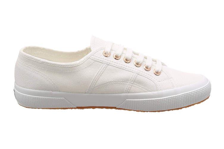 Superga Unisex 2750-Cotu Classic Shoe (White, Size 44 EU)