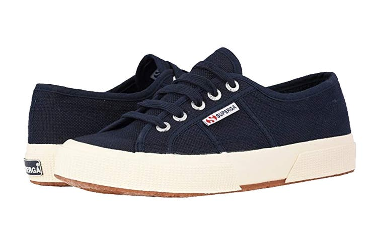 Superga Unisex 2750-Cotu Classic Shoe (Navy Blue, Size 44 EU)