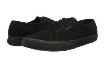 Superga Unisex 2750-Cotu Classic Shoe (Total Black, Size 35 EU)