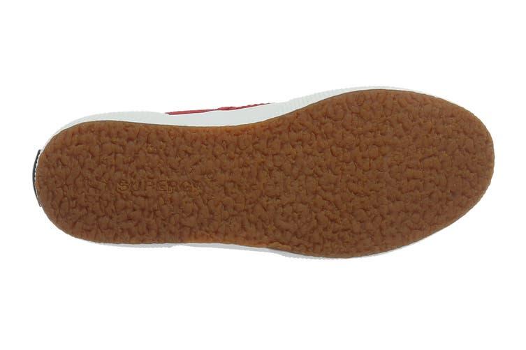 Superga Women's 2750-Cotu Classic Shoe (Red/White, Size 45 EU)