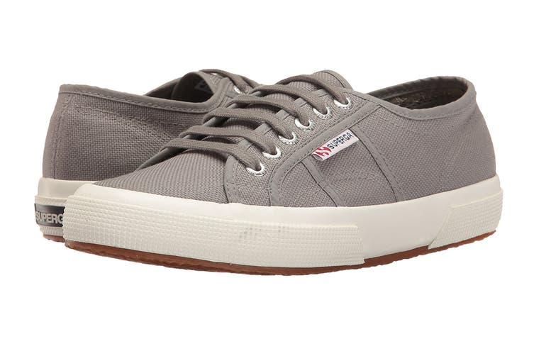 Superga Unisex 2750-Cotu Classic Shoe (Grey, Size 38 EU)