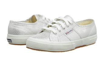 Superga Women's 2750 Lamew Shoe (Silver)