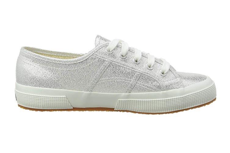 Superga Women's 2750 Lamew Shoe (Silver, Size 38 EU)