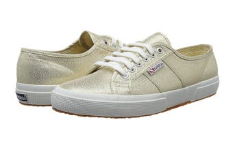 Superga Women's 2750 Lamew Shoe (Gold)
