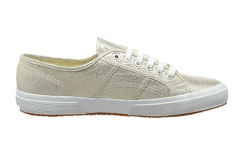 Superga Women's 2750 Lamew Shoe (Gold, Size 37 EU)