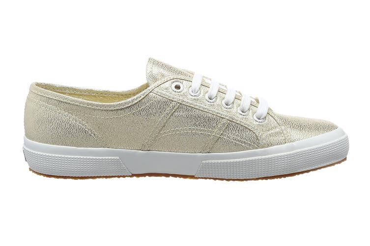 Superga Women's 2750 Lamew Shoe (Gold, Size 38 EU)
