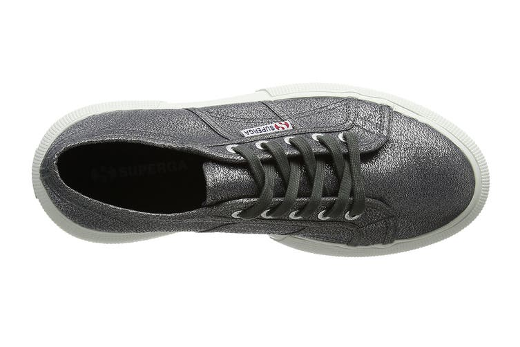 Superga Women's 2750 Lamew Shoe (Gunmetal, Size 37 EU)