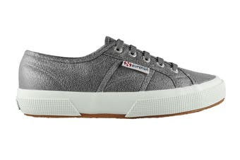 Superga Women's 2750 Lamew Shoe (Gunmetal, Size 38 EU)