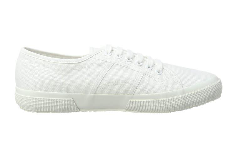 Superga Unisex 2750 Lamew Shoe (Total White, Size 35 EU)