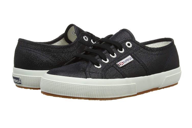 Superga Women's 2750 Lamew Shoe (Black, Size 35 EU)