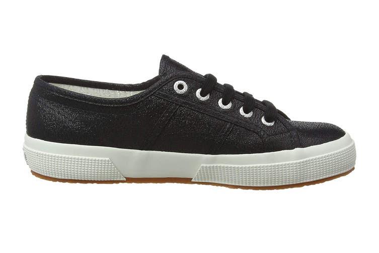 Superga Women's 2750 Lamew Shoe (Black, Size 37 EU)