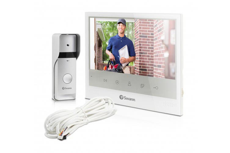 """Swann Wired Video Doorphone with 7"""" Screen (SWADS-DP885C)"""