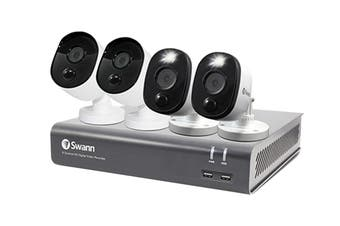 Swann 8 Channel 1080p 1TB DVR Security System with 4 x Thermal Sensing Security Cameras (SWDVK-84580V2B2FB-AU)