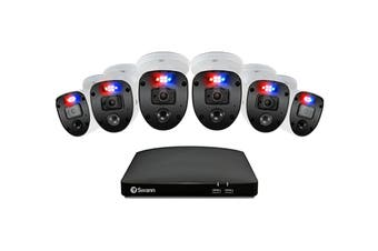 Swann Enforcer 8 Channel 1080p Full HD DVR with 6 x 1080p Full HD DVR  Security System